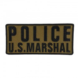 Large US MARSHAL POLICE ID...